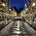 City Creek Fountain - 2 by Ely Arsha