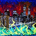 City Escape By Darryl Kravitz by Darryl  Kravitz