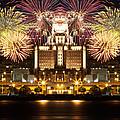 City Fireworks by Alice Gipson