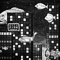 City Fish Edit 4 by Leah Saulnier The Painting Maniac