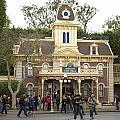 City Hall Main Street Disneyland by Thomas Woolworth