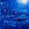 City In Blue by Christine Cobden