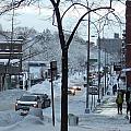City In Snow by Katerina Naumenko
