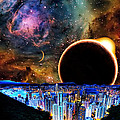 City In Space by Bruce Iorio
