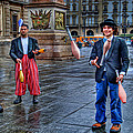 City Jugglers by Ron Shoshani