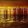 City Lights Peoria Il by Ellen Cannon