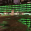 City Lights Urban Abstract by Artur Bogacki