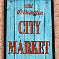 City Market Sign by Cynthia Guinn
