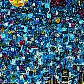 City Mosaic by Joel Tesch
