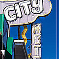 City Motel Las Vegas by Edward Fielding