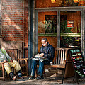 City - New York - Greenwich Village - The Path Cafe  by Mike Savad