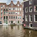 City Of Amsterdam Canal Houses by Artur Bogacki