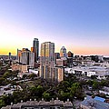 City Of Austin Texas by Kristina Deane