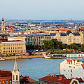 City Of Budapest Cityscape by Artur Bogacki