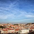 City Of Lisbon At Sunset by Artur Bogacki
