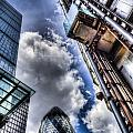 City Of London Iconic Buildings by David Pyatt