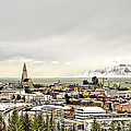 City Of Reykjavik  by Maria Coulson