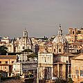 City Of Rome At Dusk by Sophie McAulay