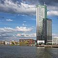 City Of Rotterdam In Netherlands by Artur Bogacki