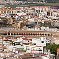 City Of Seville Cityscape In Spain by Artur Bogacki