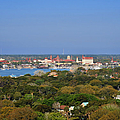 City Of St Augustine Florida by Christine Till