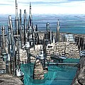 City Of The Future by Michael Wimer