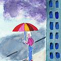 City Rain by Frank Bright