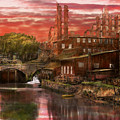 City - Richmond Va - After The Fighting Stopped - 1865 by Mike Savad