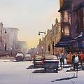 City Shadows by Ryan Radke