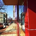 City Sidewalk by Desiree Paquette