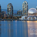 City Skyline -vancouver B.c. by Bryan Mullennix