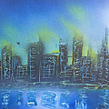 City Spray II by Kevin McQuade