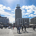 City Square In Stockholm by Jill Mitchell