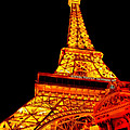 City - Vegas - Paris - Eiffel Tower Restaurant by Mike Savad