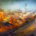 Cityscape #17 - Redpolis by Alfredo Gonzalez