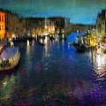 Cityscape #19. Venetian Night by Alfredo Gonzalez