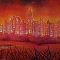 Cityscape Gold Coast by Ellis Burgess