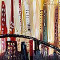 Cityscape by Lisa McLean Adams