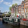 Cityscape Of Amsterdam by Artur Bogacki