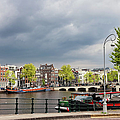Cityscape Of Amsterdam In The Netherlands by Artur Bogacki
