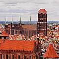 Cityscape Of Gdansk by Karol Kozlowski