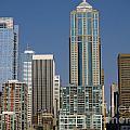 Cityscape Seattle by Brenda Kean