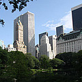Cityview Form Central Park by Christiane Schulze Art And Photography