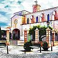 Ciutadella Church by John Lynch