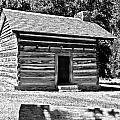 Civil War Cabin by Elvis Vaughn