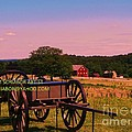 Civil War Caisson At Gettysburg by Eric  Schiabor