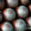 Civil War Cannon Balls by John Rizzuto
