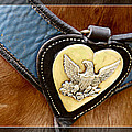 Civil War Horse Breastplate by Alice Gipson