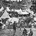 Civil War Hospital, 1860s by Granger