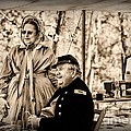 Civil War Officer And Wife by Paul Ward